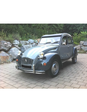 Authentique 2cv6 Charleston gris Cormoran gris Nocturne