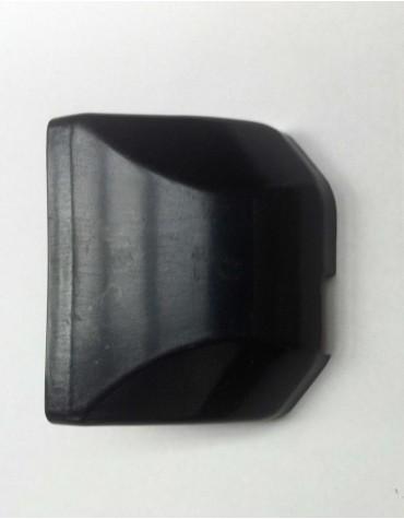Cache serrure en plastique noir 2cv