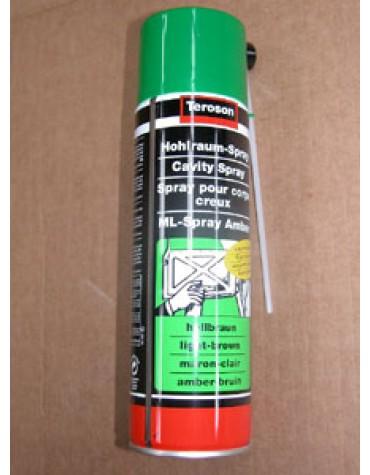Aérosol corps creux 500ml avec buse de pulvérisation pour traiter les corps creux contre la corrosion