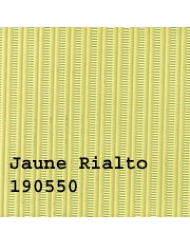 Capote 2CV neuve, fermeture extérieure jaune Rialto renforcée