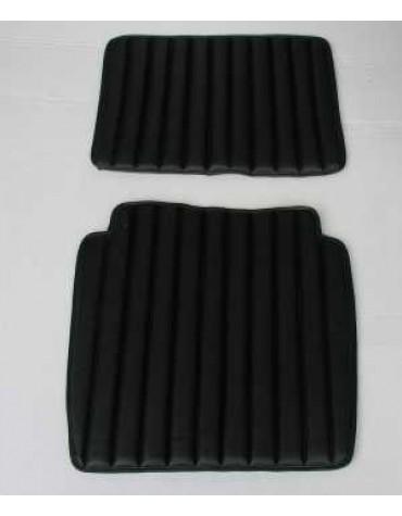 Garniture de siège simili noir HY  modèle intermédiaire