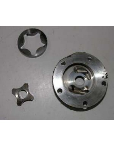 Pompe à huile  avec corps 2CV6 occasion  origine