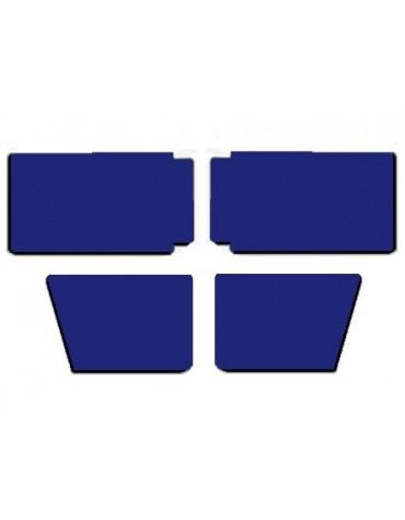 Ensemble de 4 panneaux de porte bleu marine pour 2cv Club
