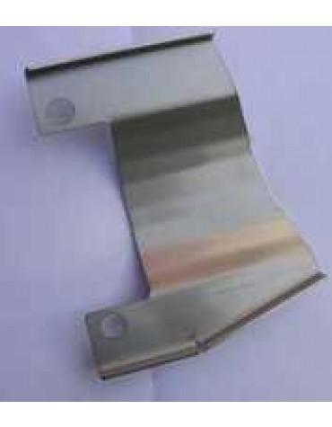 Platine de protection du câble de freins à main ( disques) a visser avec le collier d'échappement