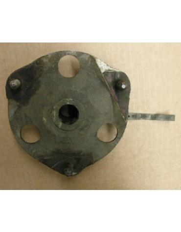 Flasque de roue avant 2cv berline et AZU 8 cannelures