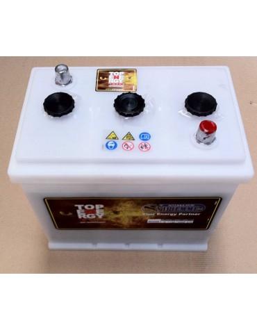 Batterie sèche 6 volts pour Traction DS