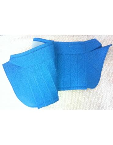 Plage arrière diamantée bleue pour 2cv AZAM