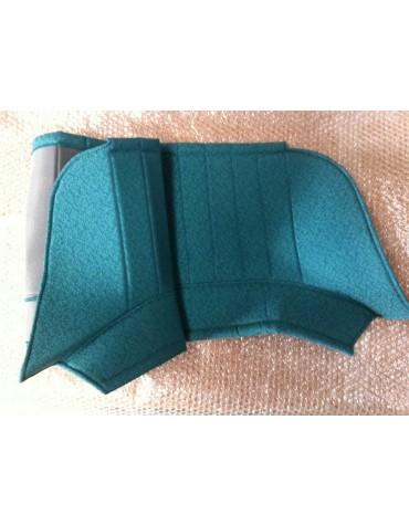 Plage arrière diamantée verte pour 2cv AZAM