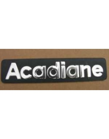 Monogramme Acadiane