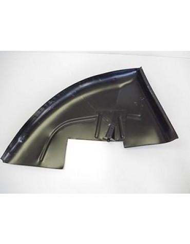 Intérieur d'aile arrière, gauche 2cv ancien modèle
