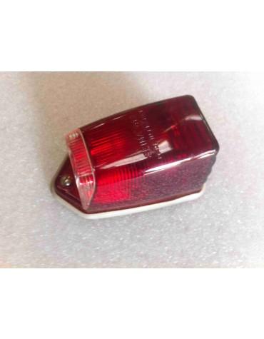 Cabochon de clignotant  rouge sur custode origine 2cv