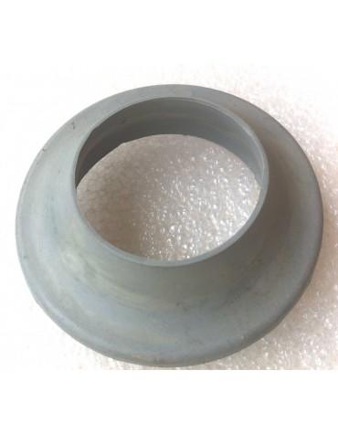 Collerette de goulotte de réservoir grise  2cv berline