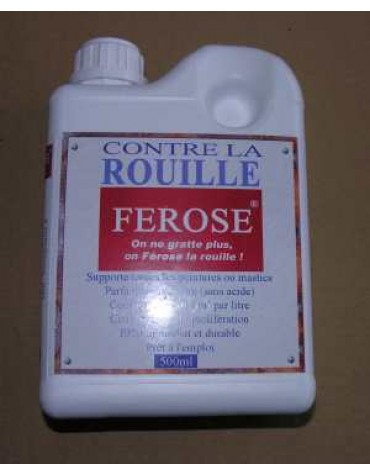 Ferose convertisseur de rouille 500 ml