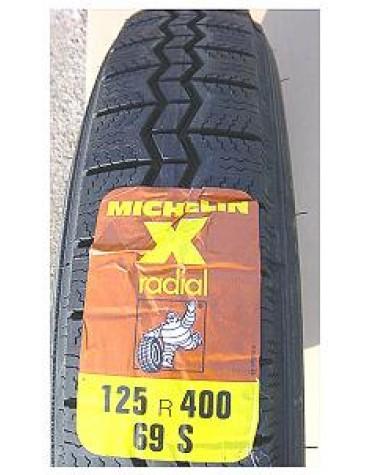 Pneu Michelin 125R16  2CV
