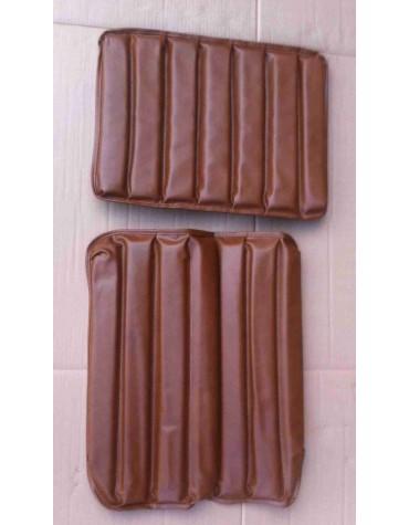 Garniture de siège HY premier modèle en simili marron