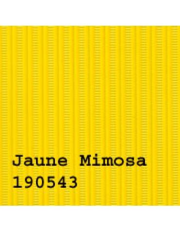 Capote 2CV neuve, fixation intérieure toile renforcée, jaune mimosa