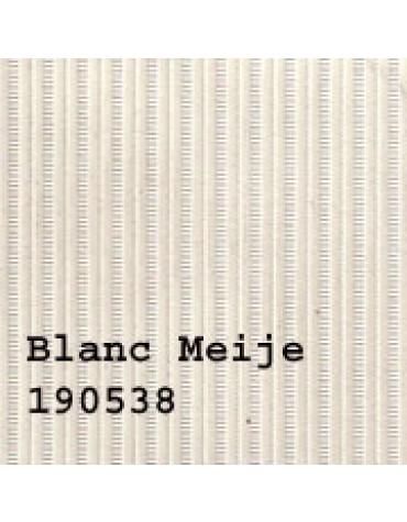 Capote 2CV neuve, fermeture intérieure blanc meije toile renforcée
