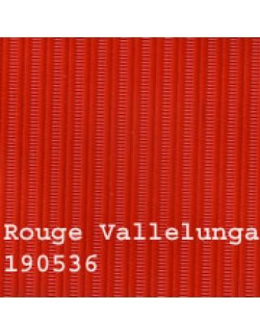 Capote 2CV  neuve, rouge Vallelunga  intérieure toile renforcée