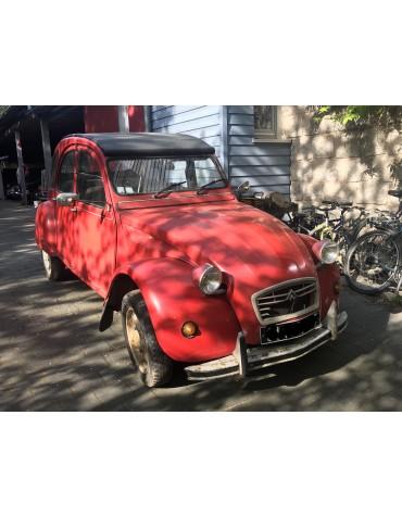2cv rouge vallelunga 1989 en vente
