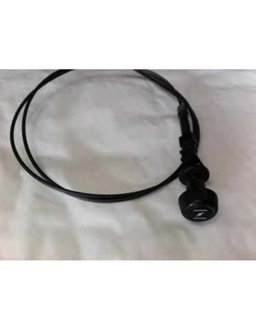 Cable de starter 2cv récente bouton noir