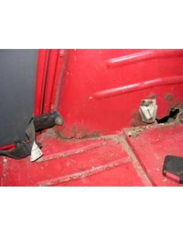 Corrosion ancrage ceinture arrière