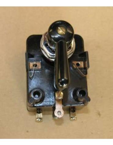 Centrale clignotante avec minuterie origine avec commutateur noir