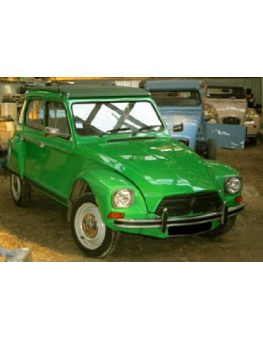 Dyane 6 vert bambou 1979
