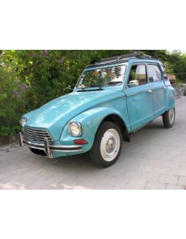 Dyane 6 bleu pétrel 1976
