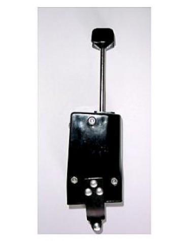 Commodo  de phare 6V ou 12V noir, 2 CV ancienne