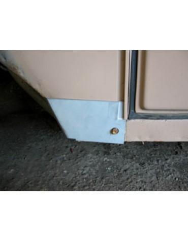 Tôle de réparation du bas de tôle latérale d'auvent gauche 2cv