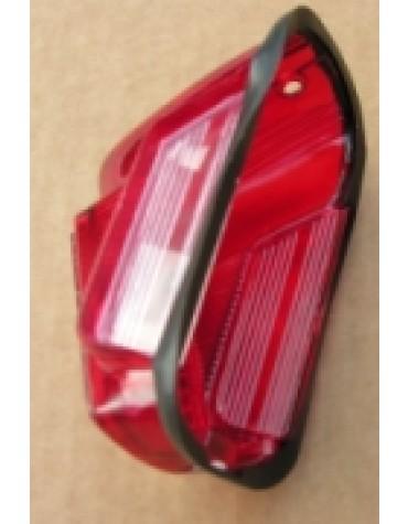 Cabochon de  feu arrière gauche avec éclaireur