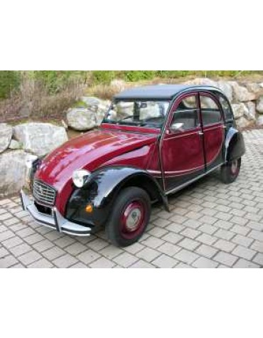 2CV 6 Charleston rouge Delage 1988