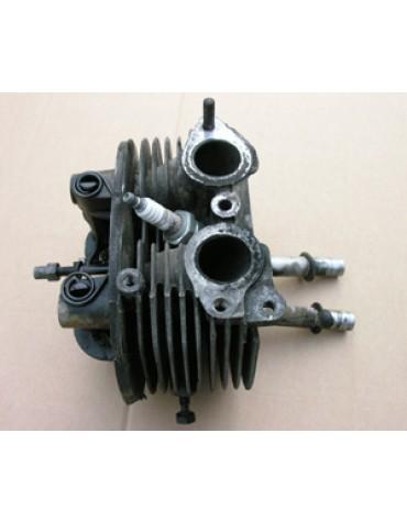 Culasse droite 2cv moteur 425 cm3 3 goujons