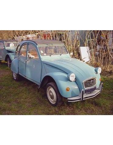 2 CV 6 Spécial Bleu Lagune 1982