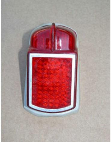 Cabochon de feu arrière gauche ou droit, sans éclaireur de plaque, 2CV jusque 1963 Origine