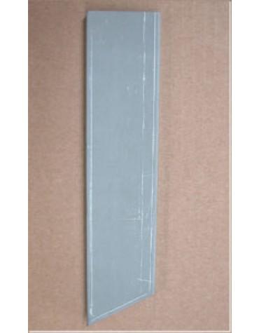 Tôle de jonction entre le renfort de plancher arrière droit et le bas de caisse droit 2cv