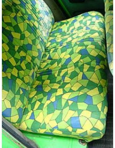 Tissu de sièges 2cv motif arlequin