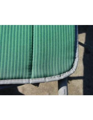 1 Garniture Bayadère Vert  2CV ancienne