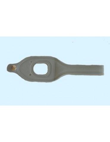 Poignée en plastique souple  comme à l'origine pour capote 2CV à ouverture intérieure et capote Dyane
