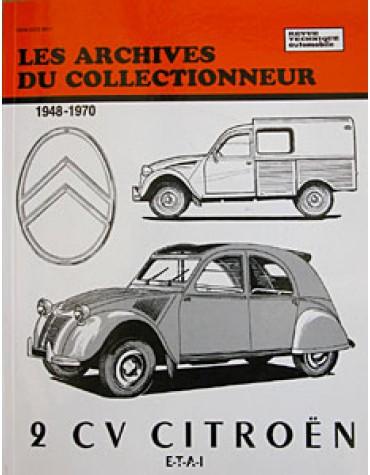 Les Archives du Collectionneur 2cv avant 1970