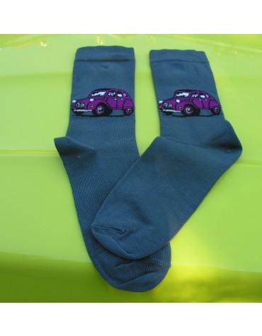 Paire de chaussette femme 35/37 Twin gris