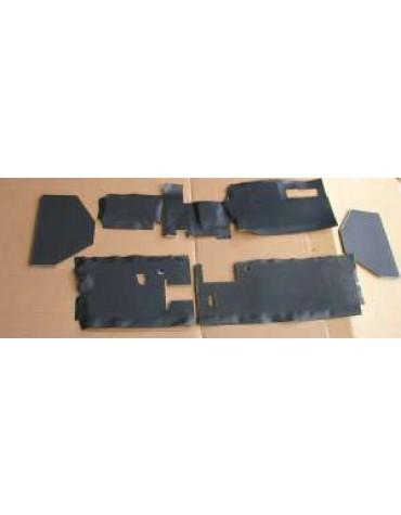 Garniture de planche de bord Dyane Acadiane 6 pièces