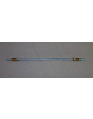 Tuyau de frein 4.5mm du répartiteur avant au cylindre gauche ou droit/2CV Ami 6 longueur 23 cms