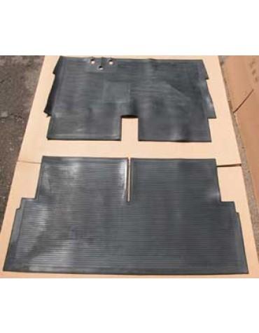 Ensemble tapis de sol en caoutchouc,  2CV ancienne