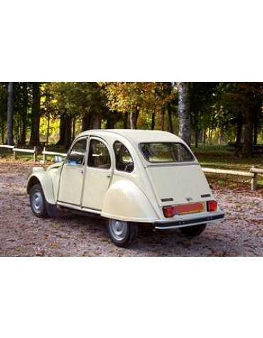 2CV 6 Club Beige Gazelle 1978