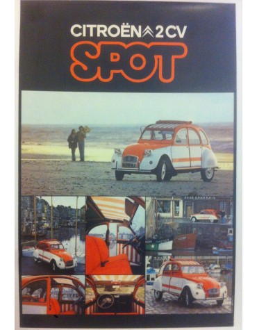 Affiche 2cv Spot
