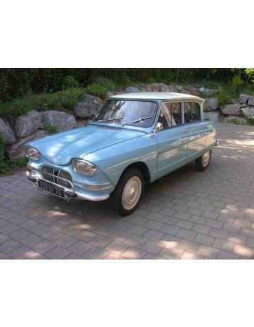 Ami 6 berline 1962 Bleu Avril