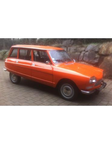 Ami 8 break orange Ténéré 1975