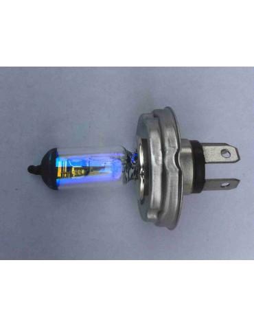 Ampoule de phare H4 jaune 12 volts ancien montage 60/55W code européen