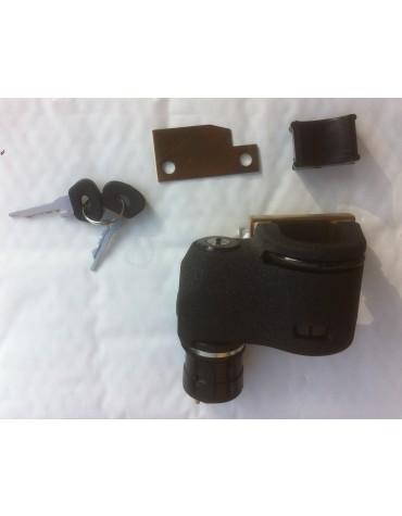 Antivol de direction 2cv ( Neiman ) copie conforme de l'origine , avec contacteur et clés